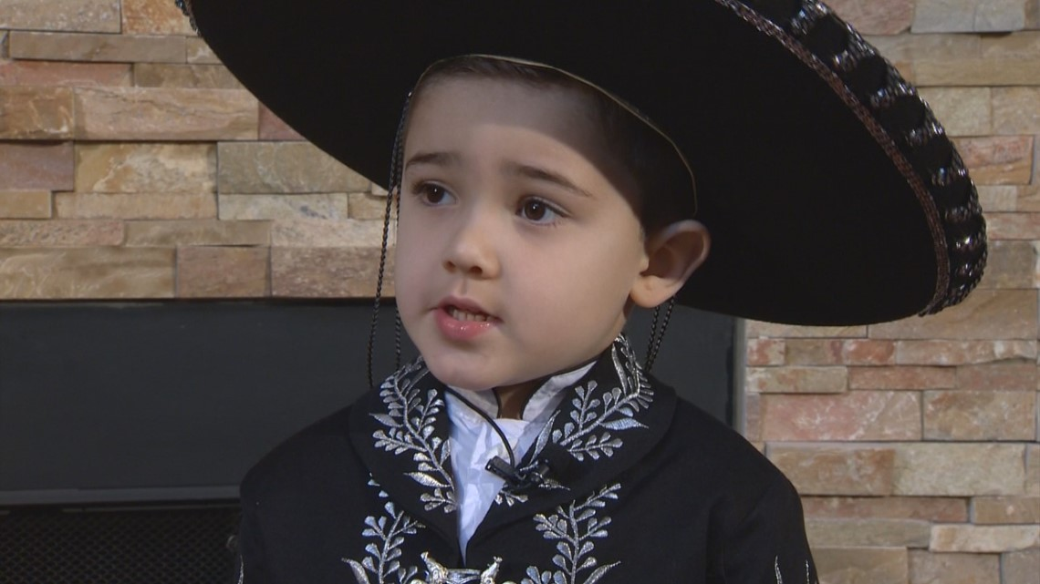 San Antonio's 4-year-old Mariachi singer competing on Mexico's Got Talent