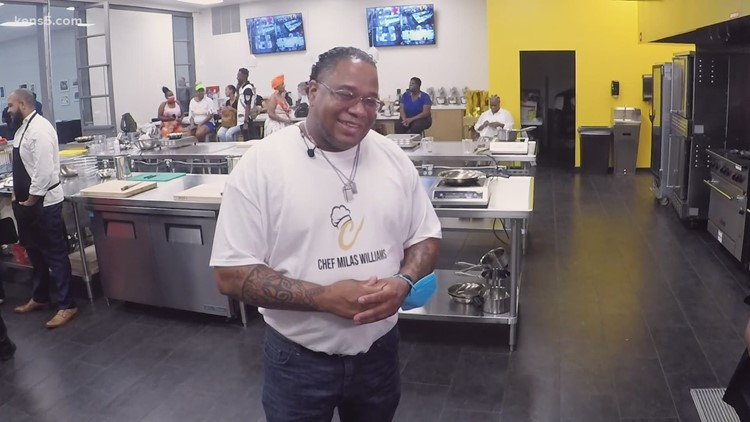 San Antonio chef using his second chance to impact city's youth