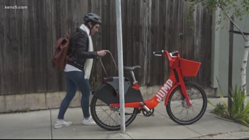 Uber pulls electric scooters, bikes from San Antonio
