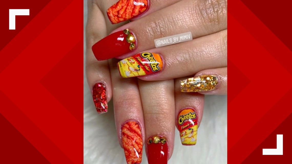 San Antonio Gas Prices >> These nail designs are 'flamin' hot' | kiiitv.com