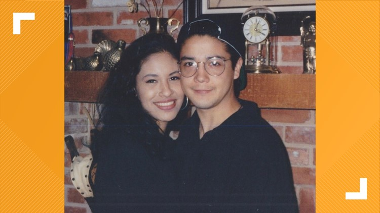 Selena's widower, Chris, shares long-lost picture of them together and a Pérez Pepper Sauce update