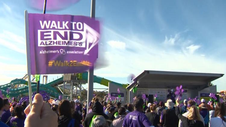 Walk to End Alzheimer's raises more than $600,000 in first year back since pandemic
