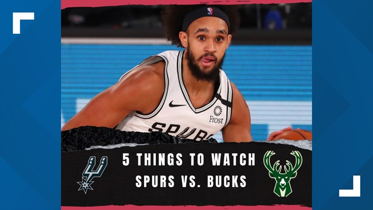 Game Story: Spurs take on Bucks at AT&T Center