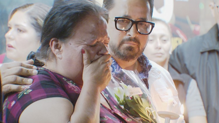 Vigil Held for Church's Chicken victim