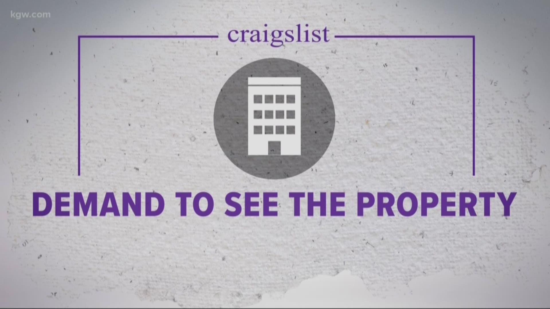 How To Avoid Craigslist Rental Scam Kiiitv Com