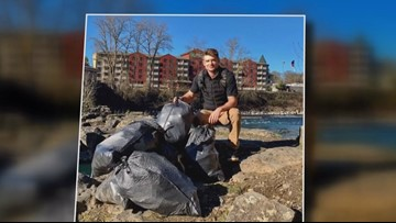 #Trashtag challenge going viral, helping the environment