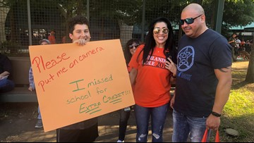 Oh, the lengths Astros fans will go! Klein Oak HS student ditches school to attend World Series