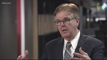 Texas Lt. Gov. Dan Patrick and NRA feud over gun background checks
