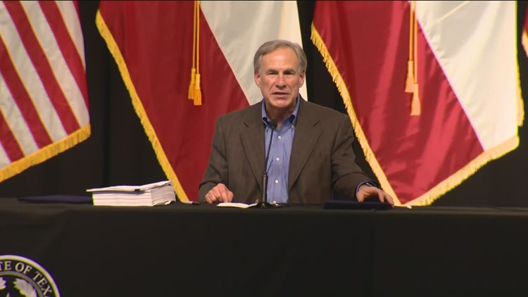 Gov. Greg Abbott says Texas will build a border wall, but doesn't yet give details on cost or location