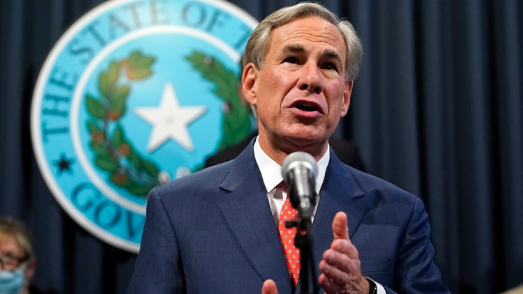 Gov. Abbott ends statewide mask mandate, allows Texas businesses to open at 100%