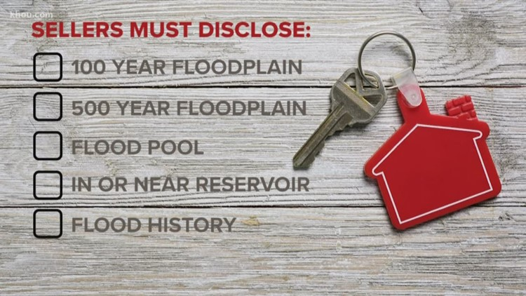 Starting Sept. 1, Texas sellers must disclose property's flood risk and flood history