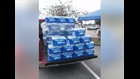 Confrontation over alleged price gouging caught on camera