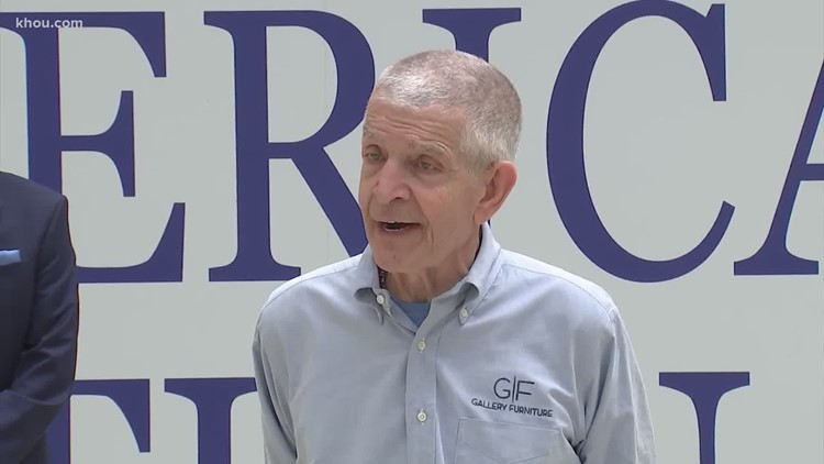 Houston's Mattress Mack honored as 'American hero' on 'The Ellen Show'