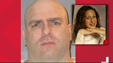Larry Swearingen muttered 'Lord forgive them' before being executed for killing Melissa Trotter