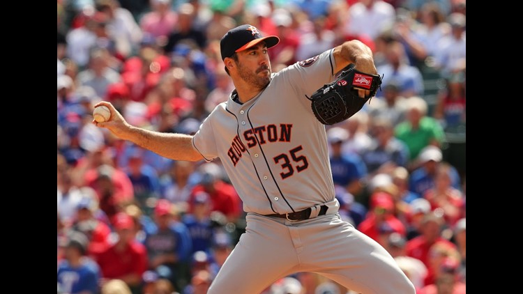 Fister slows Astros to win Rangers debut