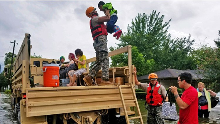 Photos: Thousands rescued after Harvey dumps record rainfall