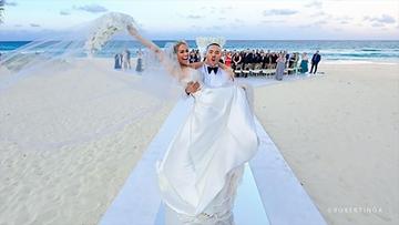 PHOTOS: Carlos Correa, Daniella Rodriguez's beautiful beach wedding
