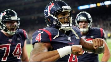 Texans' Deshaun Watson named AFC Offensive Player of the Week
