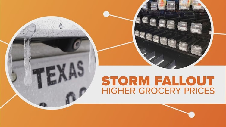 Texas winter storm could raise grocery prices | Connect the Dots