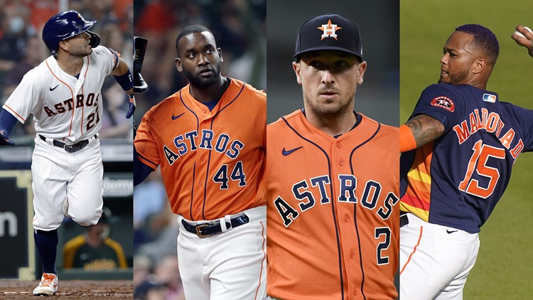 Altuve, Bregman, Alvarez among 5 Astros placed on IL