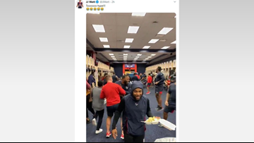 Video: Houston Texans and their locker room shenanigans