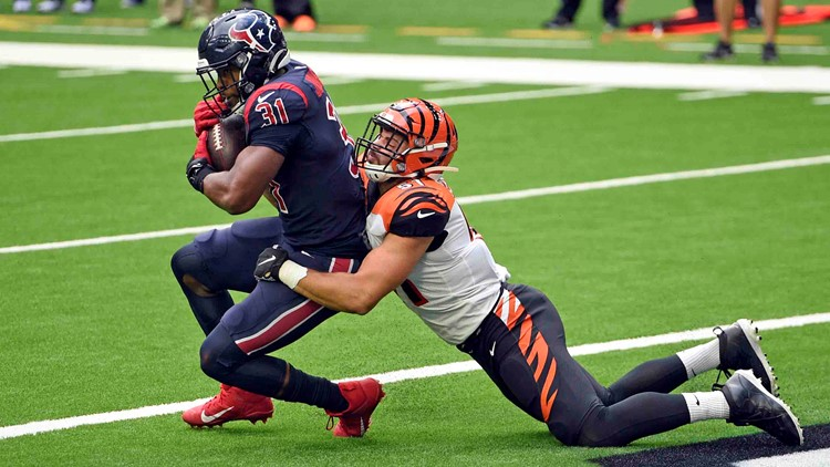 Texans drop to 4-11 with 37-31 loss to Bengals at NRG