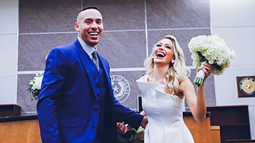 Meet the Correas: Astros SS Carlos Correa, former Miss Texas Daniela Rodriguez are officially married