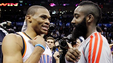 Social media reacts to Rockets' trade for Russell Westbrook