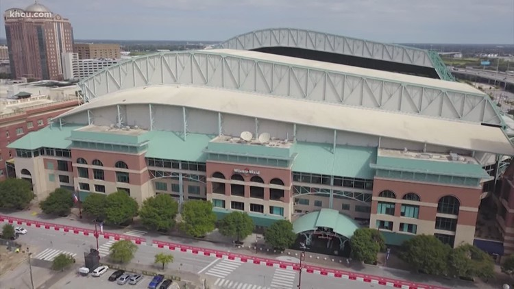 Astros announce maximum capacity allowed at Minute Maid Park for remainder of season