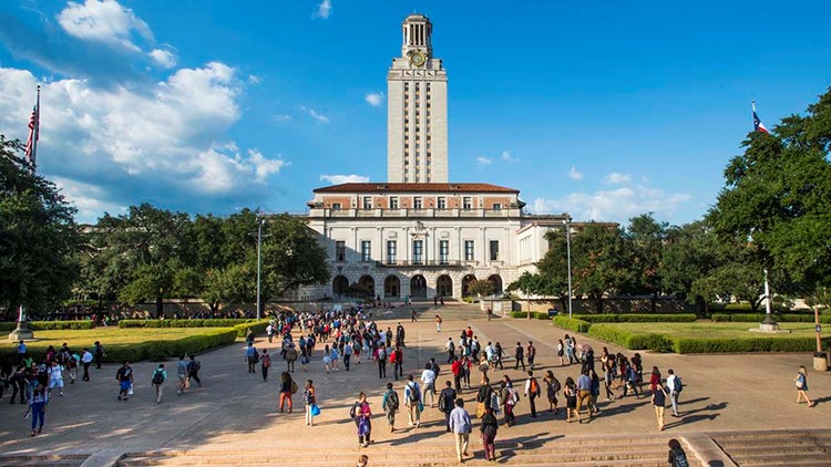 Tensions boil at UT over 'The Eyes of Texas,' where students are refusing to work, man with gun crashes virtual event