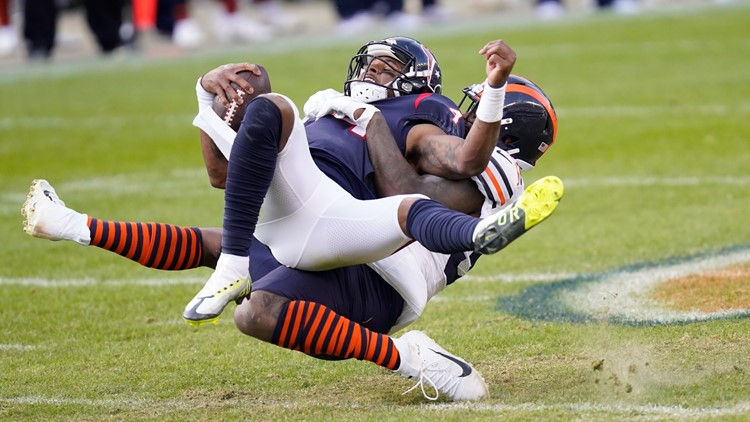 Texans beat down by Bears in 36-7 loss