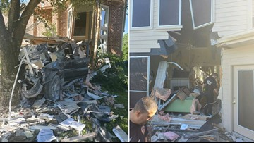Deputies identify driver who crashed through Katy home