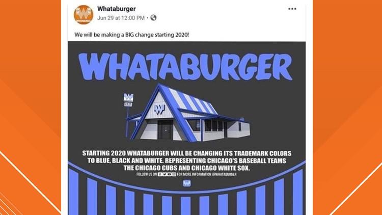 Fake Whataburger tweet