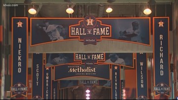 It's a sight to see! Houston Astros unveil their new Hall of Fame