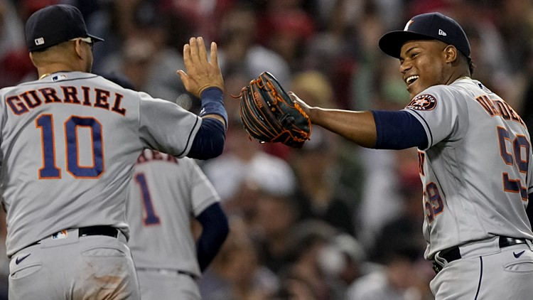 One win away: Astros' Valdez goes 8, beats Red Sox 9-1 for 3-2 ALCS lead