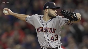 Astros pitcher gives away two sets of tickets to World Series