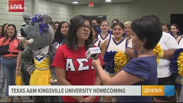 Homecoming Festivities at Texas A&M University Kingsville