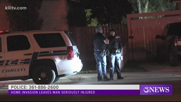 Man stabbed, beaten severely in home invasion