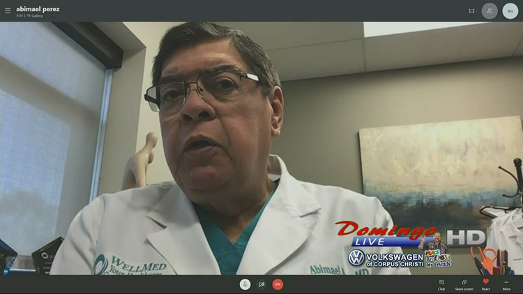 Domingo Live: Dr. Abimael Perez Covid-19 Interview
