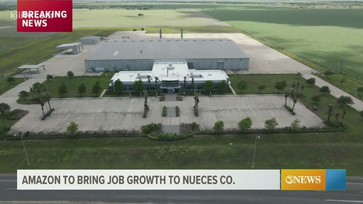 Amazon expanding to Nueces County with new delivery hub in Robstown