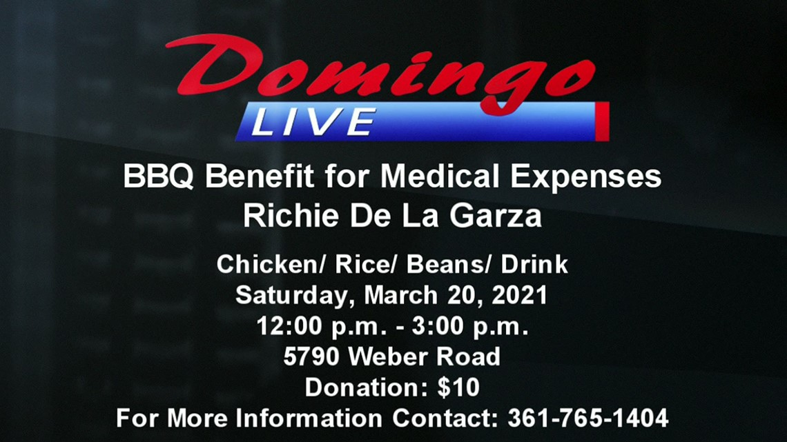 Domingo Live: Medical Fundraiser for Richie DeLaGarza