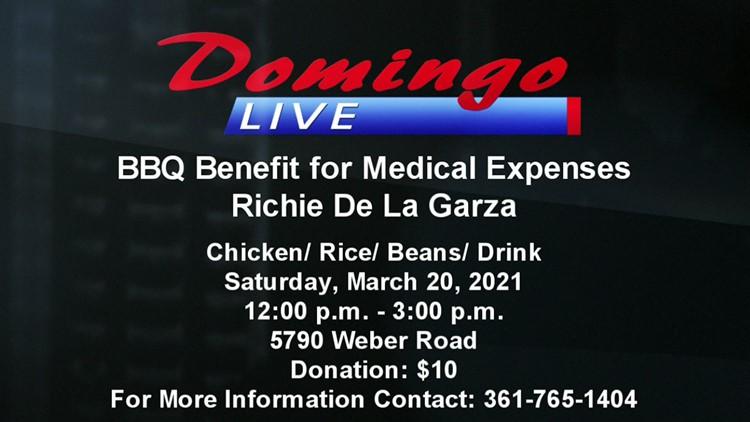 Domingo Live: Medical Fundraiser for Richie DeLaGarza