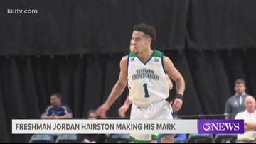 "Islanders ""Diaper Dandy"" Jordan Hairston enjoying strong Freshman year - 3Sports"