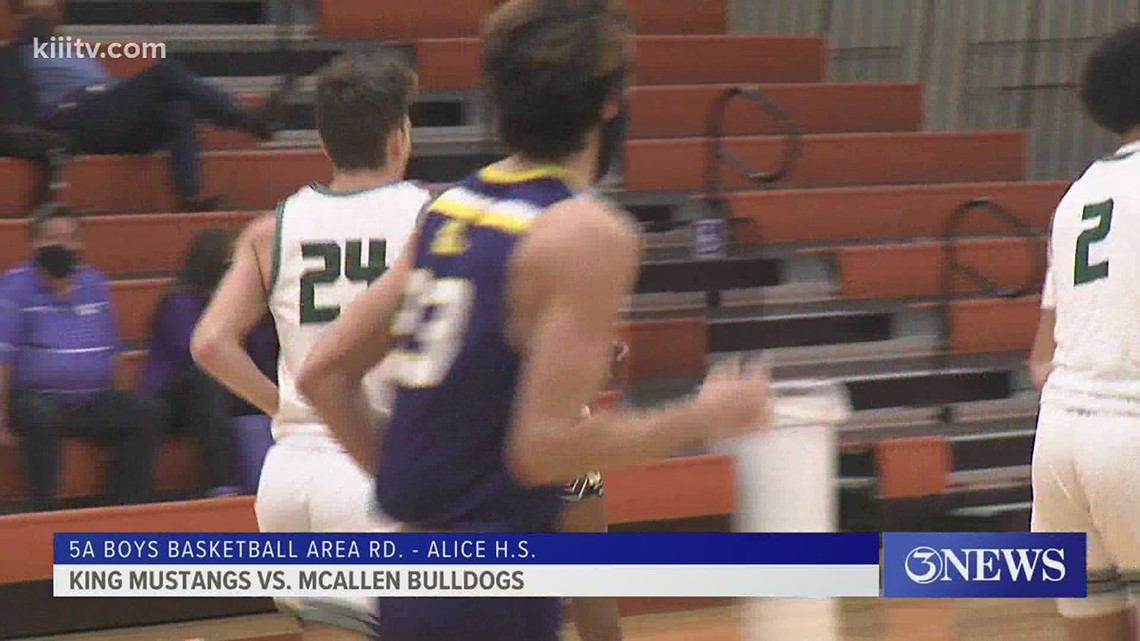 Boys area round: King falls to McAllen; Rowe tops Vets Memorial - 3Sports