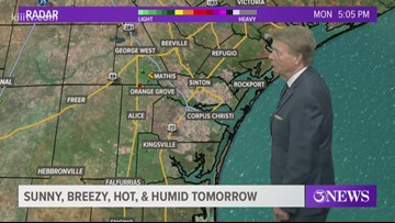 Very Hot & Humid and Breezy Tuesday