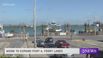 TxDOT ferry operations to adjust traffic routes for vehicles entering and exiting