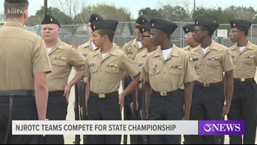 Moody High School hosts ROTC meet, teaching students about leadership