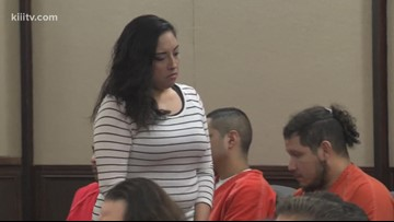 Woman accused of taking part in Breanna Wood murder back in jail