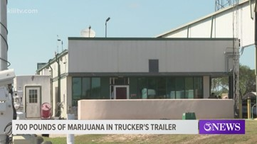 Texas trucker sentenced to federal prison for attempting to smuggle 700 pounds of marijuana