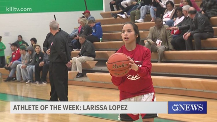 Athlete of the Week: For the 3rd consecutive year West Oso's Larissa Lopez - 3Sports
